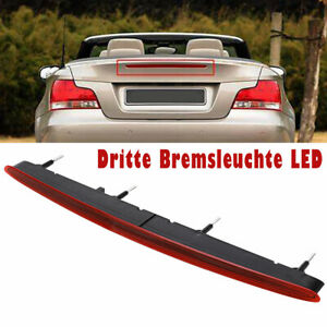 Dritte-Bremsleuchte-LED-fuer-1er-BMW-E82-E88-07-13-Bremslicht-Ruecklicht-Rot-NEU