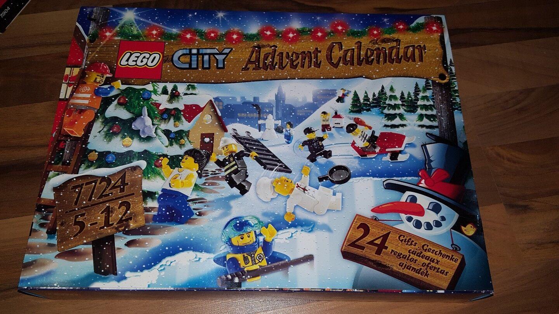LEGO Advent Calendario LEGO CITY 7724