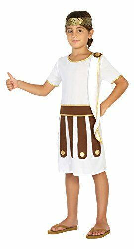 Boys Roman Costume including Sandals 3-4 yrs Cesar Emperor World Book Day