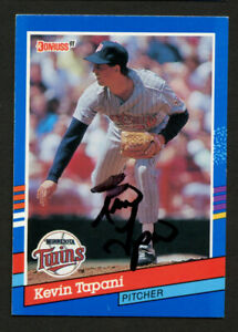 Kevin-Tapani-116-signed-autograph-auto-1991-Donruss-Baseball-Trading-Card