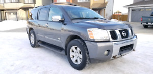 2007 Nissan Armada LE - 4X4,Heated Seats, Sunroof, Backup Camera