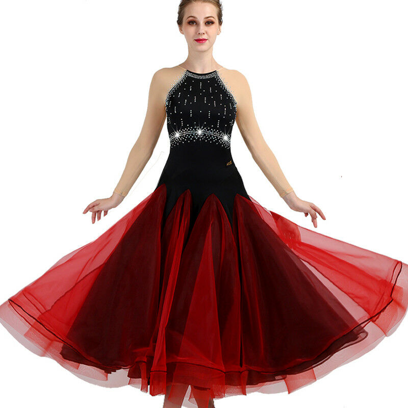 NEU Latino salsa Kleid TanzKleid Standard LatinaKleid Latein Turnierkleid FM366