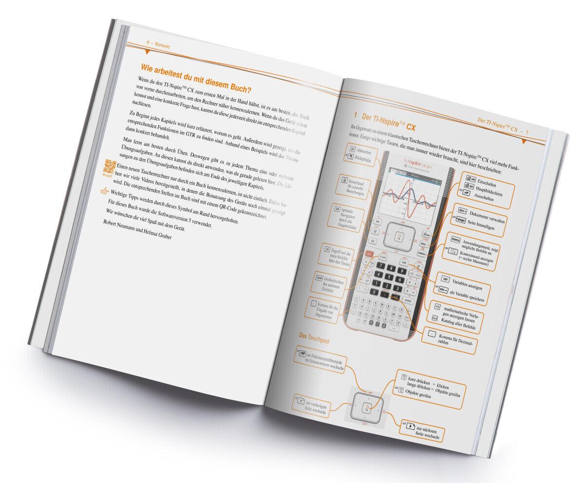 mit CD Das Buch zum Rechner Im Fokus TI-Nspire CX Praktische Anleitung