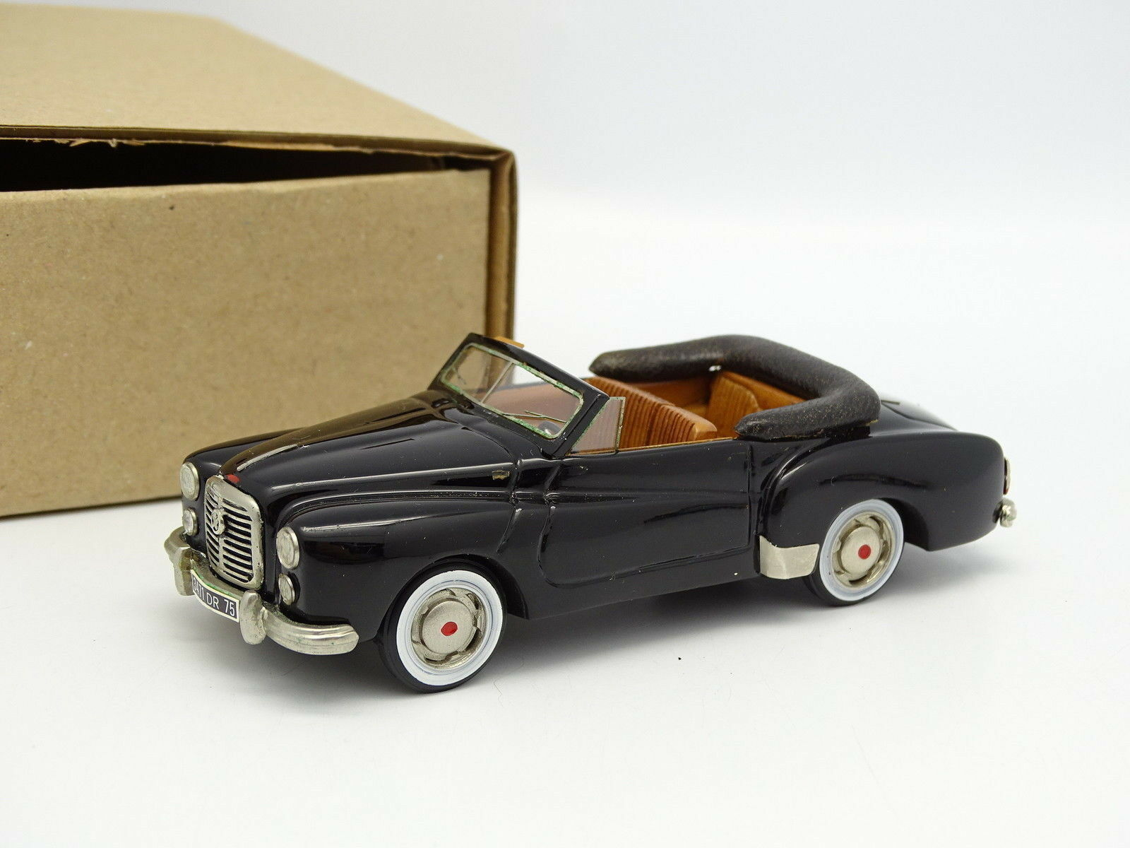 Ma Collection Brianza Résine 1 43 - Hotchkiss Gregoire Cabriolet schwarze