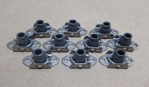 """10pc. 5310-01-328-2043 NAS1791C3-4 LOCK PLATE NUTS A-286 10-32 x 13//32/"""""""