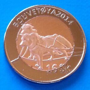 Laponia Laapland 10 öre 2015 UNC Swedish Horse Bi-Metallic bimetal unusual coin