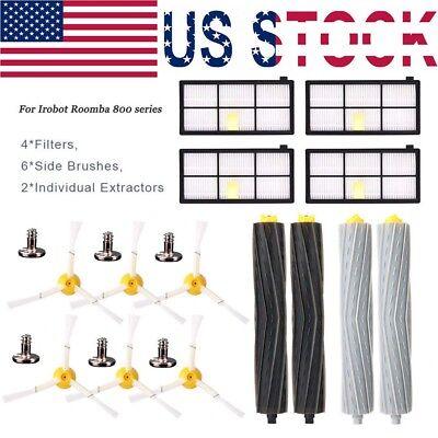 For iRobot Roomba Filters 800/&900 Series Part 805 890 980 Vacuum Brush Kit