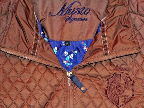 Women's Jacket 14 Quilted Musto Size Brown dqRwzYngxO