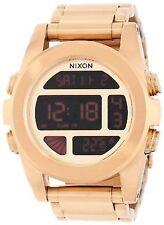 Nixon Unit SS All Gold A360-502-00 Wrist Watch for Men