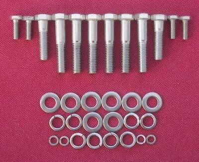 V6 FORD ESSEX 3.0 stainless ST engine rebuild /& bellhousing bolts SCIMITAR capri