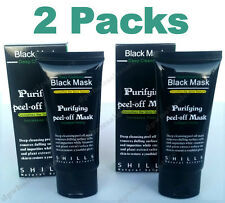 2x Packs SHILLS Purifying Black Mask Peel-off Facial Blackhead Remover Cleansing