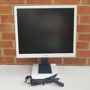 Quantita-1-FUJITSU-Monitor-19-034-pollici-DVI-D-VGA-D-Sub-Altezza-regolare-ruotare