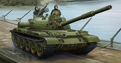 Carro Russian T-62 Mod.1975 Mod.1972  KTD2 Tank Plastic Kit 1 35 Model 1552