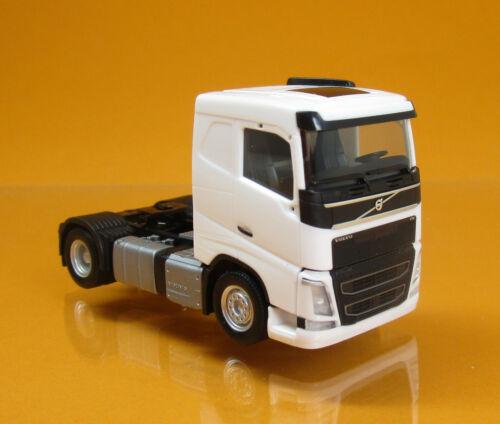 Herpa 308694 Volvo FH Flachdach Zugmaschine LKW weiß white Scale 1 87 NEU OVP