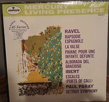 RAVEL Rapsodie Espagnole Paray MERCURY Sealed Classic Records Audiophile 2 LP