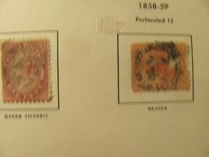 CANADA Stamp Album mh,used stamps good cv