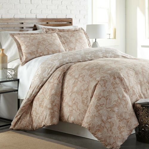 Perfect Paisley Down Alternative 3-piece Ultra Plush Reversible Comforter Set