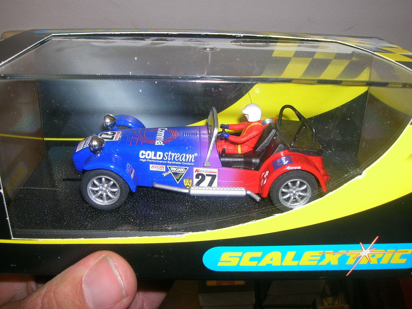 Scalextric Slot Car 1 32 132 - C. 2271 Caterham 7 Road Trim - in Box