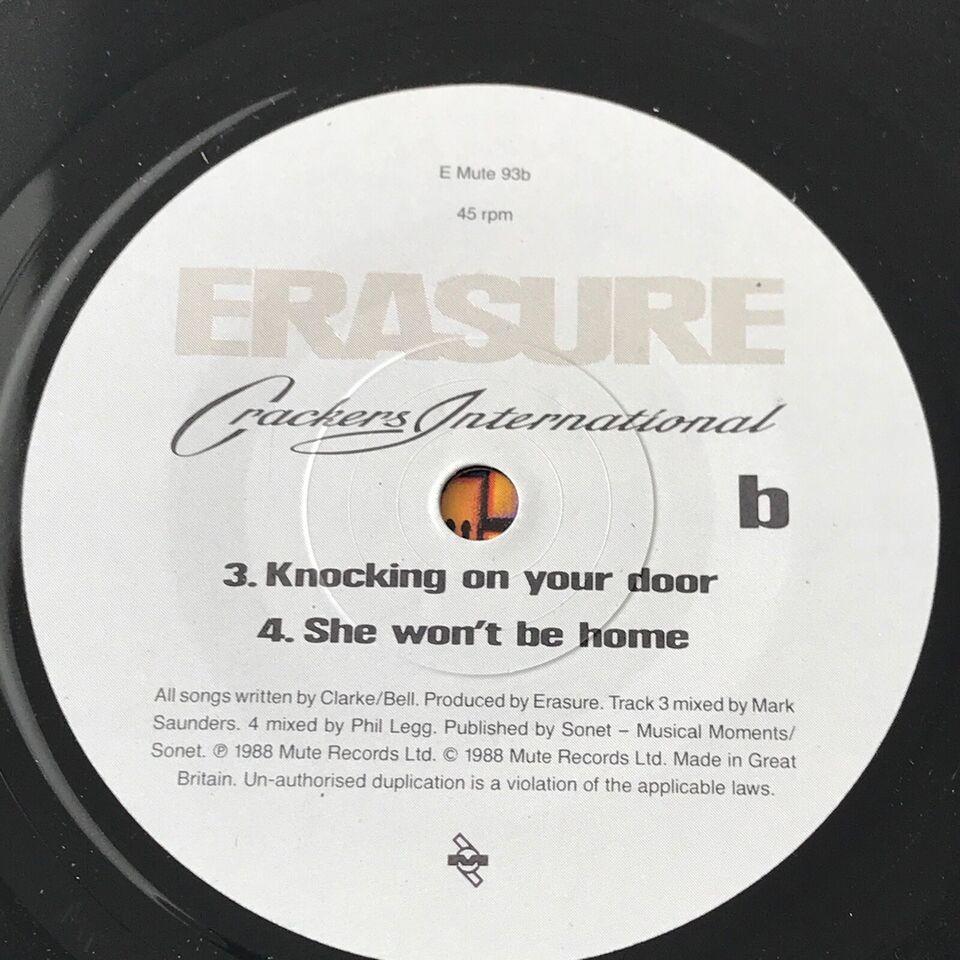 EP, Erasure, Crackers International