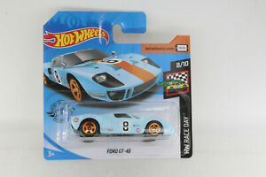 A-s-s-Hot-Wheels-nuevo-2020-Ford-GT-40-Gulf-HW-Race-Day-8-10-ghc55-35-250-OVP