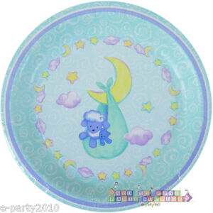 Image is loading BABY-SHOWER-Welcome-Little-Lamb-SMALL-PAPER-PLATES-  sc 1 st  eBay & BABY SHOWER Welcome Little Lamb SMALL PAPER PLATES (8) ~ Party ...