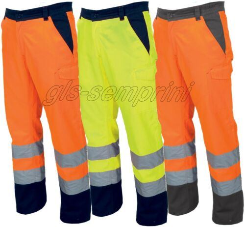 HIGH VISIBILITY TWO TONE TROUSERS WITHE REFLECTIVE BANDS PAYPER CHARTER WINTER