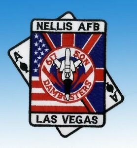 Patch-ecusson-Nellis-Las-Vegas-034-NEUF-034