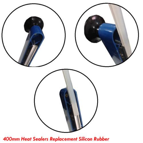 400mm SILICON GOMMA per impulso Heat Sealer ricambio parte SEALERS 400