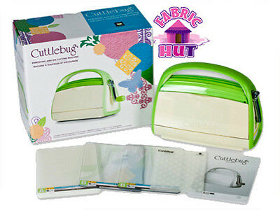 2000293- Provocraft Green Cuttle Bug Cuttlebug Paper Cut Craft Embossing Machine