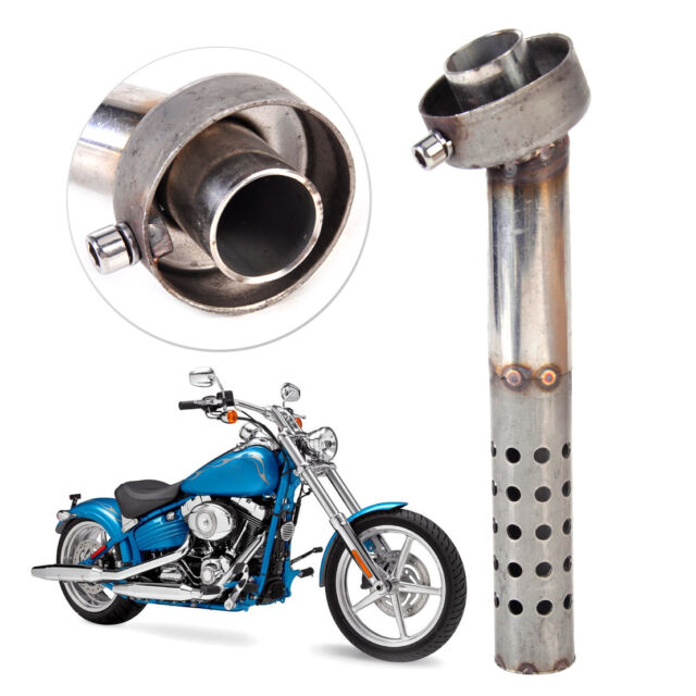 48mm Motorcycle Angled Db Killer Bend Muffler Baffle Exhaust Silencer Can Insert