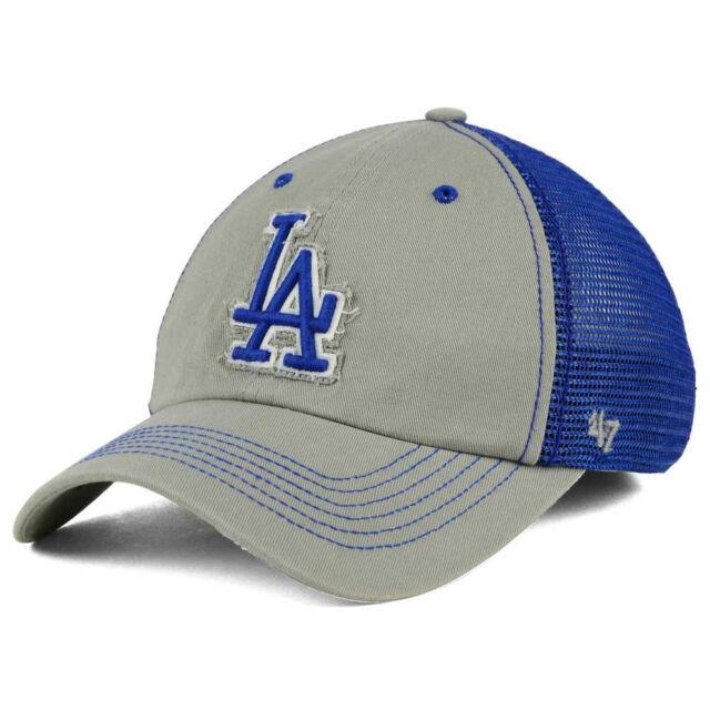 86540c2a MLB Los Angeles Dodgers 47 BRAND Taylor Closer Mesh Flex L/xl Hat Cap GD