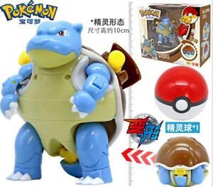Monstruo-Pokemon-Blastoise-tortank-TURTOK-Poke-Ball-transformacion-de-figuras-de-accion