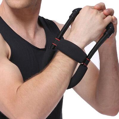 Power Wrist Device Hand Forearm Grip Strength Exerciser Fitness Training Home