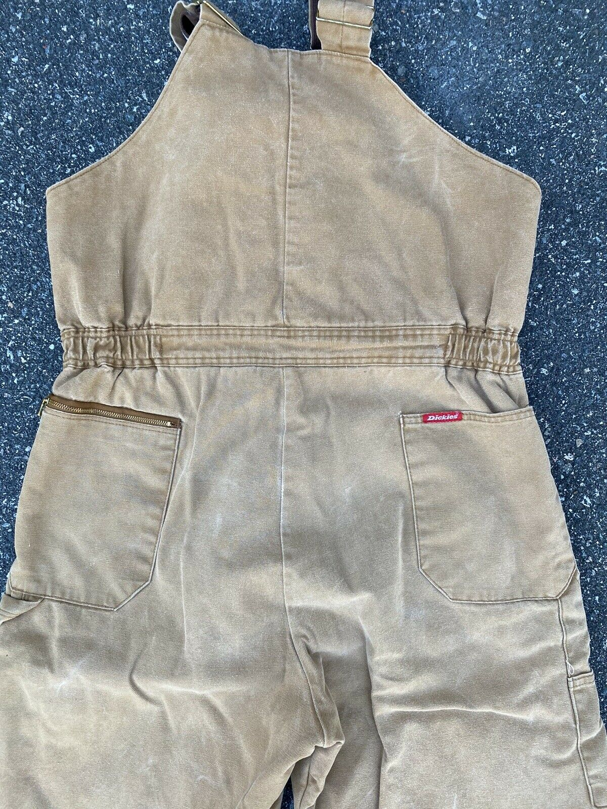 DICKIES INSULATED BIB OVERALLS DUCK BROWN SIZE 42… - image 10