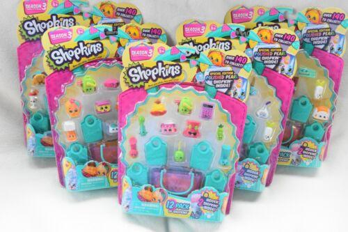 Shopkins 12 Pack Season 3 *NEW* *1* Pack Random Ship Character Vary