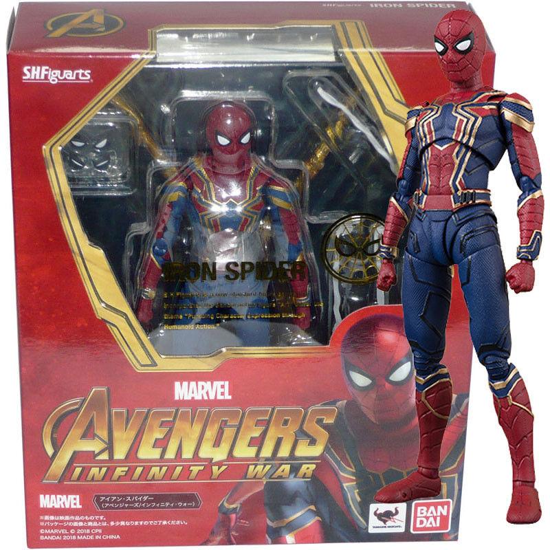 Bandai Tamashii S.H.Figuarts Marvel Avengers Infinity War Iron Spider Figure