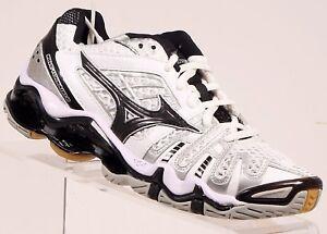 85497602459e Mizuno Women's Wave Tornado 8 Volleyball Shoe White/Black size 6 M ...