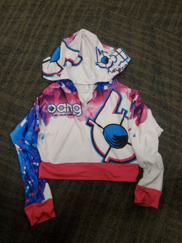 Women's Bang Revolution Energy Jacket Size Small Xs Hoodie Thin