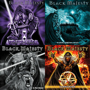 BLACK-MAJESTY-4CD-Bundle-Special-Christmas-Offer-Melodic-Power-Metal