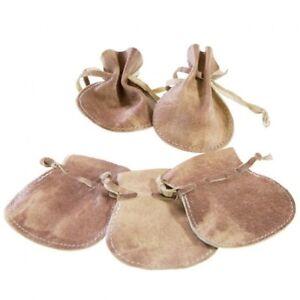 Emballages bourse en cuir qualité supérieure pour bijoux 20 pièces - 6 x 7.5 cm
