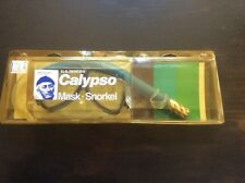 NEW IN BOX U.S. DIVERS CALYPSO MASK SNORKEL SET