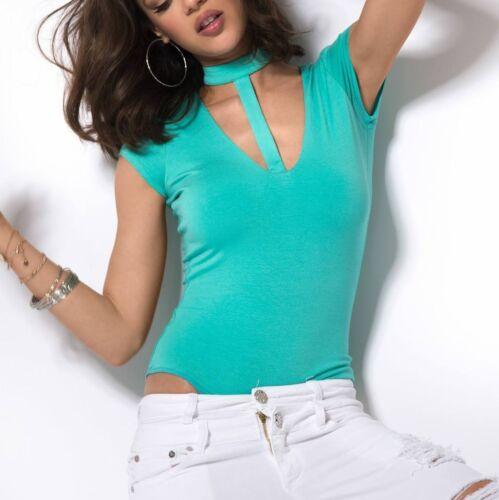 By Alina damenbody Body Chemisier Femmes chemise shirt haut damentop xs s m #b153