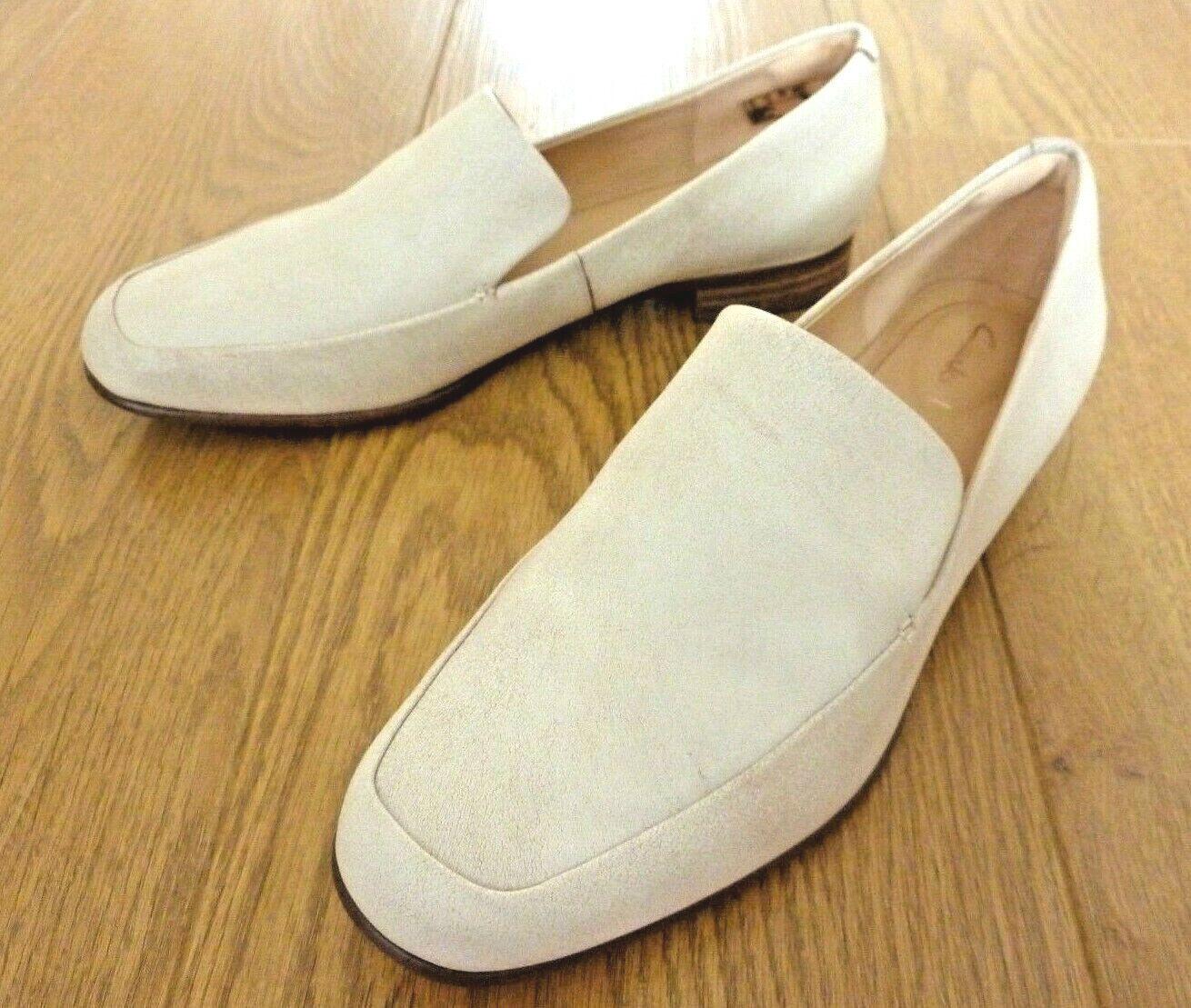 Clarks Ladies Pure Sense White Leather