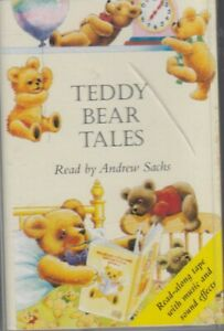Teddy-Bear-Tales-Music-Sound-Affects-Cassette-Audio-Book-Andrew-Sachs-FASTPOST