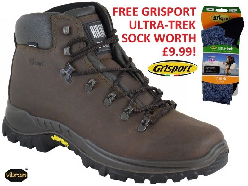 grauPORT AVENGER  Waterproof Walking Stiefel