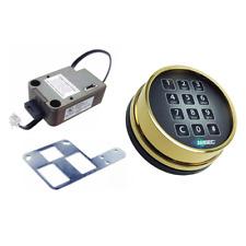 Amsec Esl10xl Brass Deadbolt Lock With Brass Keypad New Kit In Mfg Box