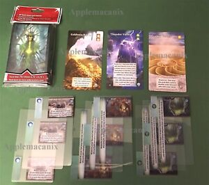 NEW-AEG-Mystic-Vale-Havens-Promo-Card-Lot-Vales-Advancements-50-Card-Sleeves
