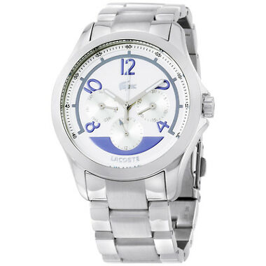 Lacoste Sofia Multifunction Steel Silver Dial Ladies Watch