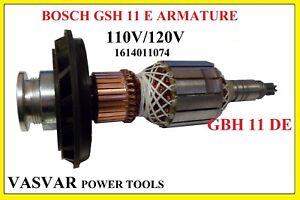 1614011074-110V//120V Armature for Bosch type GBH11DE GSH11E