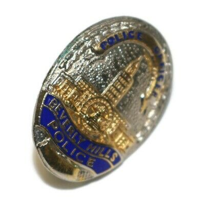 BEVERLY HILLS  POLICE OFFICER  BADGE PIN